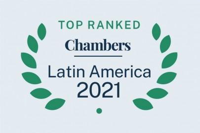 Chambers and Partners clasifica 120 abogados de Affinitas y 53 áreas de práctica en su edición de América Latina 2021