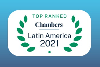 Chambers and Partners ranks 120 Affinitas lawyers and 53 practice areas in its 2021 Latin America edition