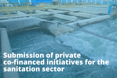 A new opportunity has opened for submitting private co-financed initiatives for the sanitation sector in Peru